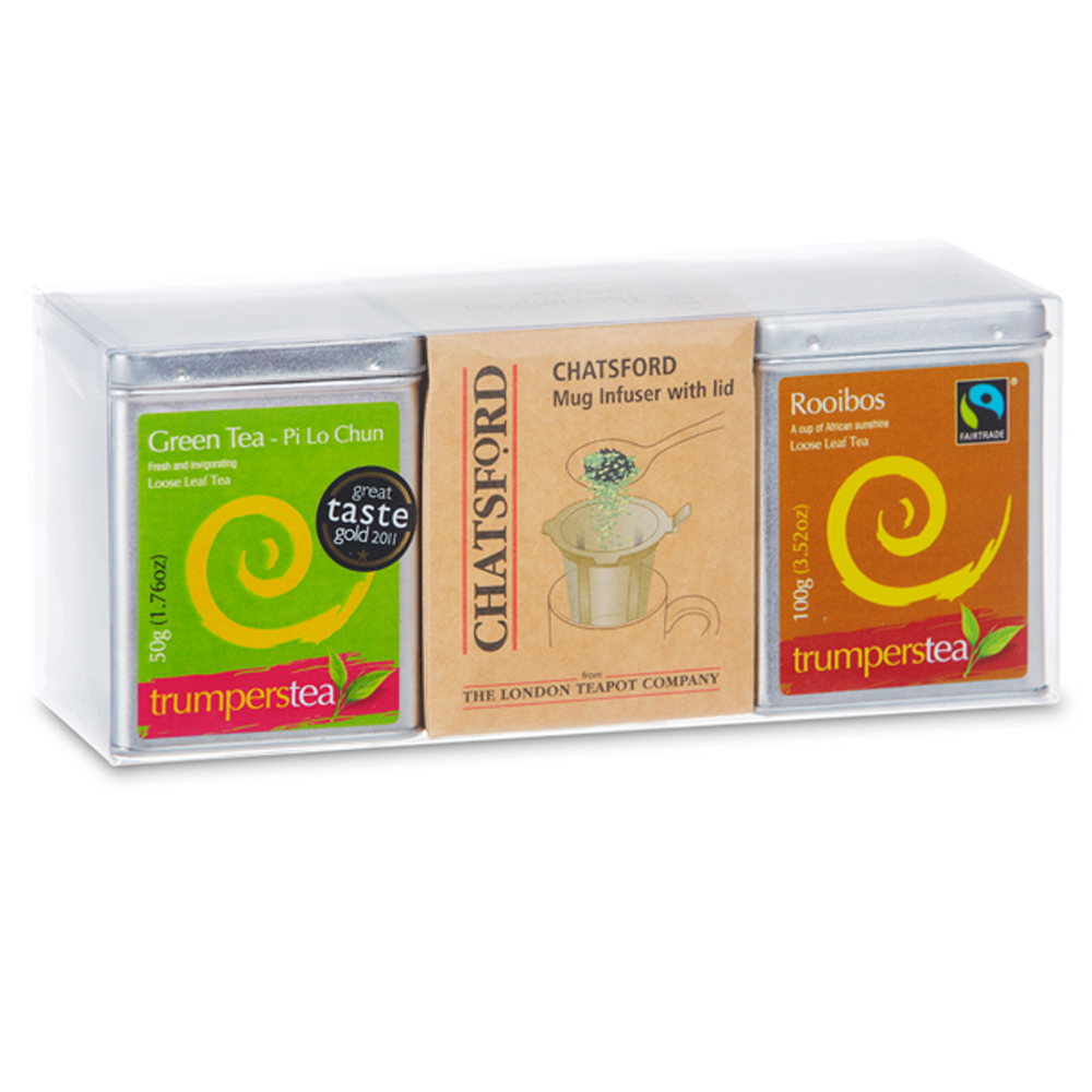 Trumpers tea - Gift Set Chatsford Green Tea & Rooibos